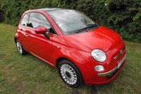 2011 FIAT 500 1.2 LOUNGE 3d HISTORY-GLASS ROOF-A/C-B/TOOTH £4890.00