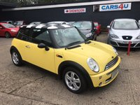 2005 MINI HATCH ONE 1.6 ONE 3d 89 BHP £2990.00