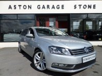 USED 2014 14 VOLKSWAGEN PASSAT 2.0 EXECUTIVE STYLE TDI BMT DSG AUTO ESTATE ** LEATHER * NAV ** ** SAT NAV * HEATED LEATHER * FULL VW SERVICE HISTORY **