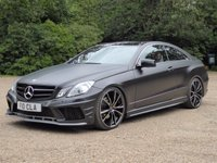 USED 2011 MERCEDES-BENZ E CLASS 3.0 E350 CDI BLUEEFFICIENCY SPORT 2d AUTO 265 BHP