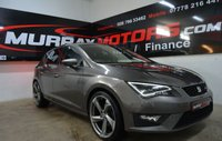 2014 SEAT LEON 2.0 TDI FR TECHNOLOGY 5 DOOR 150 BHP TECHNIC GREY £11450.00