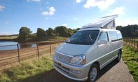 USED 2001 TOYOTA REGIUS TOYOTA REGIUS NEW REAR CONVERSION CAMPER  - EVERY CONVERTED CAMPERVAN COMES WITH OUR 3 YEAR MECHANICAL AND INTERIOR WARRANTY 2.4 LITRE