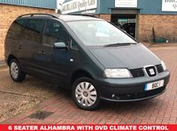 USED 2005 55 SEAT ALHAMBRA 1.9 SX TDI 5d 129 BHP Six Seater with only 2 Owners from new Cool Box Climtate Control and Greart Service history
