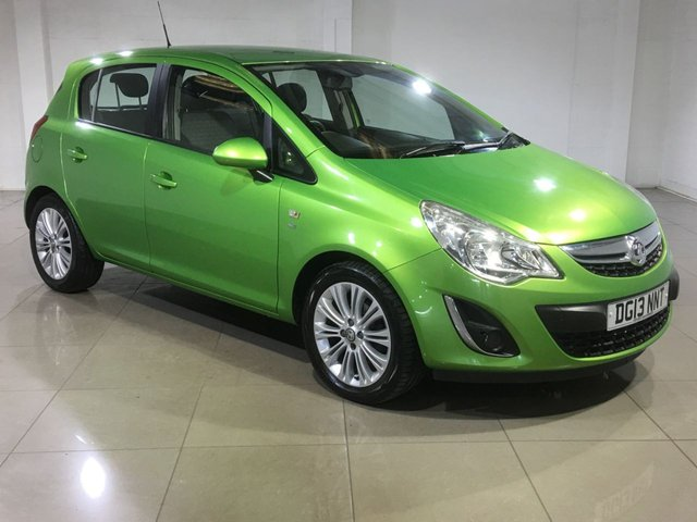 View our 2013 13 VAUXHALL CORSA 1.4 SE 5d 98 BHP