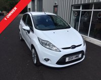 USED 2011 11 FORD FIESTA 1.4 TITANIUM 5d 96 BHP THIS VEHICLE IS AT SITE 2 - TO VIEW CALL US ON 01903 323333