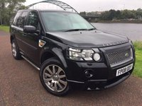 USED 2008 08 LAND ROVER FREELANDER 2.2 TD4 HST 5d AUTO 159 BHP **FULL LEATHER PACK**