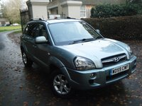 USED 2010 59 HYUNDAI TUCSON 2.0 PREMIUM CRDI 5d AUTO 148 BHP LEATHER*LOW MILEAGE*S/HISTORY*HPI