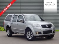 USED 2013 13 GREAT WALL STEED 2.0 TD S 4X4 DCB 4d 141 BHP 4x4, LEATHER,AIR CON, HARD TOP