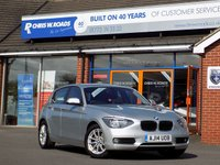 USED 2014 14 BMW 1 SERIES 1.6 116D EFFICIENTDYNAMICS BUSINESS 5dr * Leather & Nav * *ONLY 9.9% APR with FREE Servicing*