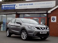 USED 2016 16 NISSAN QASHQAI 1.5 DCi ACENTA (Tech Pack) 5dr 108 BHP * Sat Nav * *ONLY 9.9% APR with FREE Servicing*
