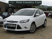 USED 2014 14 FORD FOCUS 1.0 ZETEC NAVIGATOR 5d 124 BHP £30 For A Years Tax & 50MPG