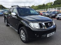 USED 2015 15 NISSAN NAVARA 3.0 OUTLAW DCI 4X4 SHR DCB 1d 228 BHP Leather, sunroof, Sat Nav, Media, Armadillo cover, heated seats ++