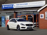 USED 2014 14 MERCEDES-BENZ A CLASS A220 2.1 CDi BLUEEFFICIENCY AMG SPORT AUTO (170) * Night Pack * *ONLY 9.9% APR with FREE Servicing*