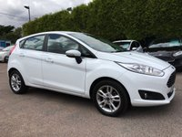 2016 FORD FIESTA 1.5 ZETEC TDCI 5d STILL WITH REMAINING FORD WARRANTY  £8500.00
