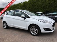 USED 2016 16 FORD FIESTA 1.5 ZETEC TDCI 5d STILL WITH REMAINING FORD WARRANTY  NO DEPOSIT  PCP/HP FINANCE ARRANGED, APPLY HERE NOW