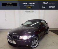 USED 2010 10 BMW 1 SERIES 2.0 118I M SPORT 2d 141 BHP
