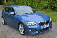 2016 BMW 1 SERIES 1.5 116D M SPORT 5d AUTO 114 BHP £15495.00