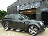 2013 LAND ROVER RANGE ROVER SPORT 3.0 SDV6 HSE BLACK 5d AUTO 255 BHP £25995.00