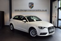 USED 2013 62 AUDI A3 2.0 TDI SE 3DR 148 BHP + BLUETOOTH + SPORT SEATS + AUXILIARY PORT + HEATED MIRRORS + 17 INCH ALLOY WHEELS +