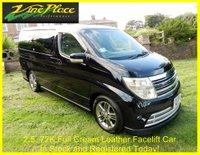 2006 NISSAN ELGRAND Rider Autec 2.5 Automatic 8 Seats Full Leather £9000.00
