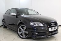 USED 2011 11 AUDI S3 2.0 S3 TFSI QUATTRO S LINE BLACK EDITION 3DR AUTOMATIC 261 BHP FULL SERVICE HISTORY + 0% FINANCE AVAILABLE T&C'S APPLY + SAT NAVIGATION + LEATHER SEATS + CLIMATE CONTROL + PARKING SENSOR + BLUETOOTH + CRUISE CONTROL + MULTI FUNCTION WHEEL + 18 INCH ALLOY WHEELS