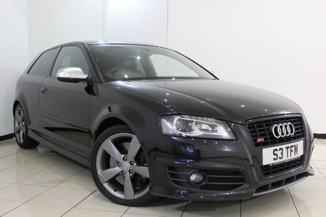 View our 2011 11 AUDI S3 2.0 S3 TFSI QUATTRO S LINE BLACK EDITION 3DR AUTOMATIC 261 BHP
