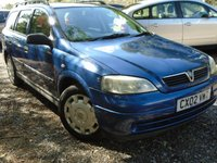 USED 2002 02 VAUXHALL ASTRA 1.6 CLUB 5d 85 BHP MOT AUGUST 2018