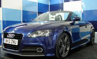 2012 AUDI TT 2.0 TFSI QUATTRO S LINE 2d AUTO 211 BHP £13995.00