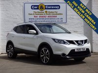 USED 2015 15 NISSAN QASHQAI 1.6 DCI TEKNA 4WD 128 BHP SAT-NAV Full Leather Top Spec 0% Deposit Finance Available