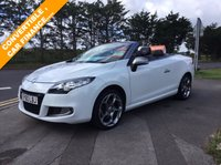 USED 2010 60 RENAULT MEGANE 2.0 GT TCE 2d 180 BHP POWER HOOD CONVERTIBLE , NICE EXAMPLE