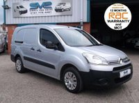 USED 2014 14 CITROEN BERLINGO LWB L2 HDI BIGGER 90BHP FACTORY 5 SEAT CREW / KOMBI VAN IN SILVER 12 MONTHS RAC WARRANTY, PX WELCOME, FINANCE ARRANGED