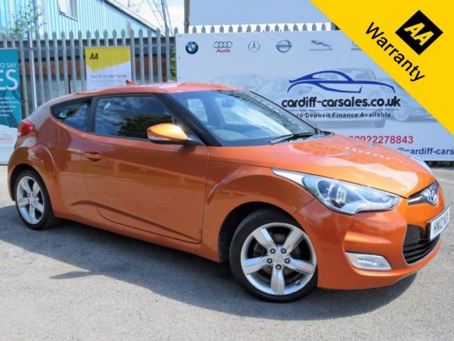 2012 12 HYUNDAI VELOSTER 1.6 GDI 4d 138 BHP! p/x welcome! PARKING AID! FULL SERVICE HISTORY! NEW MOT! CLIMATE CONTROL!