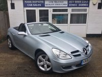 USED 2006 06 MERCEDES-BENZ SLK 1.8 SLK200 KOMPRESSOR 2d AUTO 161 BHP * 57K FSH  TWO LOCAL FAMILY OWNERS   EXCELLENT CONDITION *