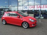 USED 2012 62 VAUXHALL CORSA 1.6 VXR 3d 189 BHP £0 DEPOSIT, LOW RATE FINANCE ANYONE, DRIVE AWAY TODAY!!