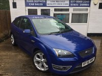 USED 2007 56 FORD FOCUS 2.5 ST-2 3d 225 BHP 23K FFSH  ONE OWNER COLLECTORS CAR / FUTURE MODERN CLASSIC IMMACULATE