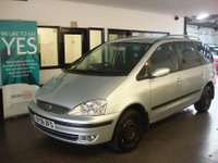 "USED 2006 06 FORD GALAXY 1.9 GHIA TDI 5d AUTO 115 BHP This hpi clear Galaxy is finished in silver metallic with grey velour It is fitted with power steering, remote locking, electric windows and mirrors,  climate control, cruise control, rear privacy glass, front and rear parking sensors, CD Stereo, alloy wheels, heated front screen and more.  It has a set of winter tyres as well as an excellent set of 16"" Alloys. It has had only 3 private owners from new.  We have all the old MOT's."