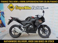USED 2017 17 HONDA CBR125 R GOOD & BAD CREDIT ACEEPTED, OVER 500+ BIKES