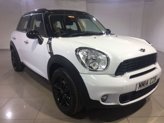 View our 2014 14 MINI COUNTRYMAN 2.0 COOPER SD 5d 141 BHP