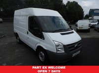 USED 2011 11 FORD TRANSIT 2.2 SWB WITH A MED ROOF LOW MILES SAME DAY VAN FINANCE OPEN 7 DAYS PX WELCOME