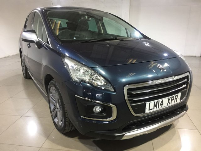View our 2014 14 PEUGEOT 3008 1.6 E-HDI ALLURE 5d AUTO 115 BHP