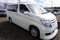 USED 2003 03 NISSAN ELGRAND 3.5 V 6 - EVERY CONVERTED CAMPERVAN COMES WITH OUR 3 YEAR MECHANICAL AND INTERIOR WARRANTY
