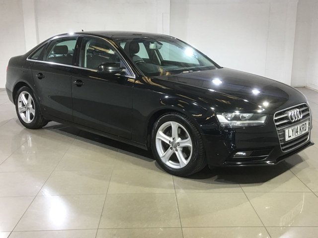 View our 2014 14 AUDI A4 2.0 TDI SE TECHNIK 4d 134 BHP