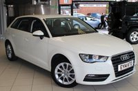 USED 2014 14 AUDI A3 1.6 TDI SE 5d 104 BHP ANTHRACITE CLOTH SEATS + FREE ROAD TAX + LOW INSURANCE GROUP + UP TO 74 MPG + AIR CONDITIONING + ELECTRIC WINDOWS