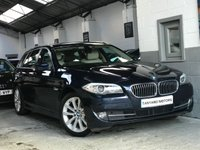 USED 2011 11 BMW 5 SERIES 2.0 520D SE TOURING 5d AUTO 181 BHP FULL SERVICE HISTORY+SAT NAV