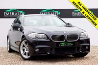 USED 2011 60 BMW 5 SERIES 2.0 520D M SPORT TOURING 5d AUTO 181 BHP **£0 DEPOSIT FINANCE AVAILABLE**SECURE WITH A £99 FULLY REFUNDABLE DEPOSIT** X-DRIVE, BLUETOOTH PREP, BLACK LEATHER UPHOLSTERY, HEATED FRONT SEATS, CRUISE CONTROL, PARK ASSIST, AUX INPUT, DUAL CLIMATE CONTROL & AIR CONDITIONING