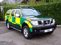 USED 2009 09 NISSAN NAVARA 2.5 OUTLAW DCI 4X4 SWB SHR D/C 1d 169 BHP . NISSAN NAVARA 2.5 OUTLAW DCI 4X4 SWB (Ambulance)