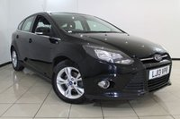 USED 2013 13 FORD FOCUS 1.6 ZETEC ECONETIC TDCI 5DR 104 BHP FULL SERVICE HISTORY + SAT NAVIGATION + PARKING SENSOR + BLUETOOTH + CRUISE CONTROL + 16 INCH ALLOY WHEELS