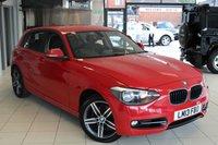 USED 2013 13 BMW 1 SERIES 1.6 118I SPORT 5d 168 BHP SPORT SEATS + BLUETOOTH + DAB RADIO + 17 INCH ALLOYS + RAIN SENSORS + AIR CONDITIONING + ELLECTRIC WINDOWS