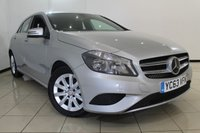USED 2013 63 MERCEDES-BENZ A CLASS 1.5 A180 CDI BLUEEFFICIENCY SE 5DR 109 BHP HALF LEATHER SEATS + AIR CONDITIONING + BLUETOOTH + MULTI FUNCTION WHEEL + RADIO/CD + 16 INCH ALLOY WHEELS