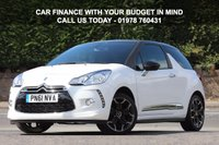 USED 2011 61 CITROEN DS3 1.6 DSTYLE PLUS 3d 120 BHP Finance Options Available